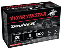 "Winchester Supreme Double X Turkey 12 Ga, 3"", 1-3/4oz, 5 Shot, 10rd/Box"