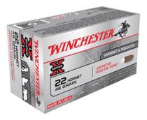 Winchester Super X 22 Hornet Hollow Point 46gr, 50Box/10Case
