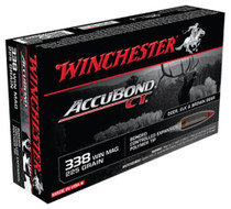 Winchester Supreme .338 Win Mag AccuBond CT 225gr 20rd Box