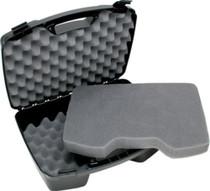"""MTM Case-Gard Four Handgun Case up to 8"""" Barrel Textured Polypropylene Bl"""