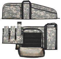 "Allen Assault Rifle Case AR-15 42"", Removeable Pouch, Sling"