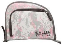 Allen Company Inc Auto-Fit 1-Pocket Tactical Handgun Case Measures 9.5x7.25 Inches Pink Digital