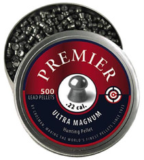 Crosman Premier Pellets Domed .22 Silver 500 Count