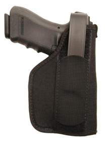 """Blackhawk Nylon Laser Holster Black Size 1, For Medium Semi-Autos, 3-4"""" Barrel, Laser, RH, Black"""
