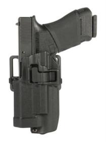 Blackhawk CQC Level 2 Serpa Light Bearing Holster Black Left Hand Xiphos NT For Glock 17/22/31