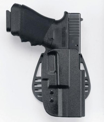 Uncle Mike's Kydex Paddle Open Top 29 Black Kydex