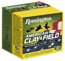 "Remington American Clay & Field Sport Loads 12 Ga, 2.75"", 1-1/8 oz, 8 Shot, 25rd/Box"
