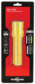 Surefire G2X Pro 6V 15/320 Lumens LED Yellow Polymer
