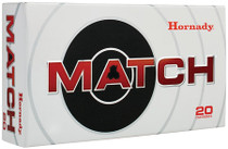 Hornady Match .338 Lapua, 250 Grain Boattail Hollow Point, 20rd/box