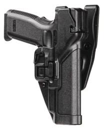 Blackhawk Level 3 Serpa Auto Lock Duty Plain Black Right Hand For Springfield XD/XDM