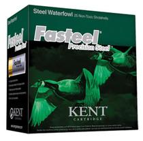 """Kent Fasteel 12 Ga, 2.75"""", 1 1/4oz, 3 Shot, 25rd/Box"""