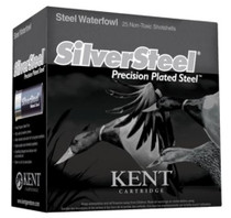 "Kent Silver Steel 12 Ga, 3.5"", 1-1/2 oz, BB Shot, 25rd Box"