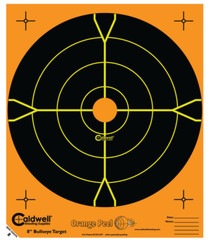 "Battenfeld Technologies Caldwell Orange Peel Flake Off Bullseye Targets 16"" 100 Per Package"