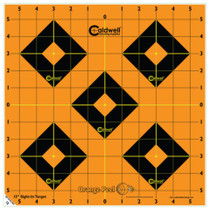 "Battenfeld Technologies Caldwell Orange Peel Flake Off Sight-In Targets 12"" 100 Per Package"