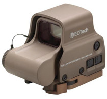EOTech EXPS3-0 Tan, NV, Side Button, QD Lever, 65MOA Ring and 1 Dot