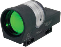 Trijicon Reflex RX30 Sight 1x42mm With 6.5 MOA Amber Dot Reticle and RX11 Weaver Mount Matte Black