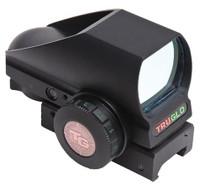 Truglo Crossbow RedDot Sight 1x 24x34mm 74 ft-30ft@100yds 30mm Tube Black