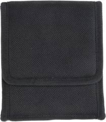 Bulldog Cases Ambidextrous Vertical Conceal Carry Holster Looks Like Cell Phone Holder Black Nylon For Compact 9mm Autos (LC-9)