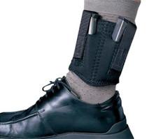 Desantis Neoprene Double Ankle Magazine Pouch, Black