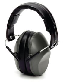 Pyramex VentureGear PM9010 Ear Muffs NRR 22db Gray Clampacked