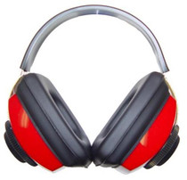 Radians Competitor Electronic Hearing Protection Muffs Red/Black