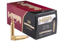 HPR Ammunition 223 Rem/5.56 NATO 55gr, FMJ, 50rd/Box, 20 Box/Case