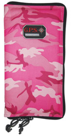 G. Outdoors Pistol Sleeves Size Large, Pink Camo