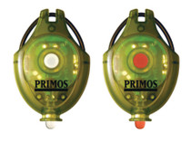 Primos Hunting Calls Cap Lights includes 1 White LED and 1 Green LED