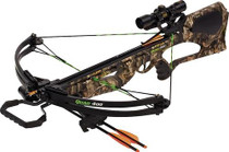 "Barnett Quad 400 Crossbow 345 FPS, 4x32mm Scope, 22"" Arrow (3) Camo"
