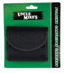 Uncle Mike's Cartridge Carrier Rifle 45-1, Holds 10, Black Nylon