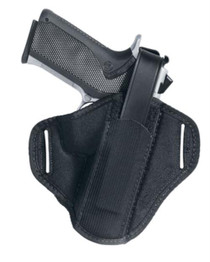 "Uncle Mike's Belt Slide Holster Size 1, 4"" Medium Auto, Ambi, Black"