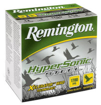 "Remington HyperSonic Steel 10 Ga, 3.5"", 1-1/2oz, BBB Shot, 25rd/Box"