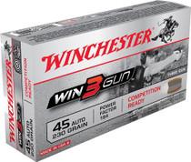 Winchester Win3Gun 45 ACP 230gr, 50rd/Box,