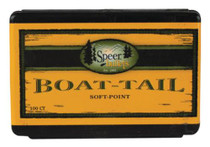 Speer Rifle Bullets Boat Tail 6mm .243 100 Gr, Spitzer, Boat Tail, Soft Point, 100/Box