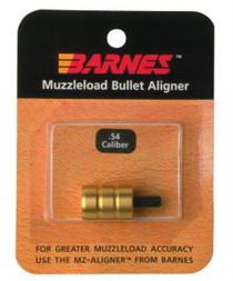 Barnes 05400 Muzzleloader Alignment Tool .54 Cal Brass