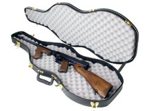 "Thompson Violin Case, ""Tommy Gun"" Ready"