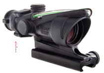Trijicon ACOG 4x32 Scope Dual Illuminated Green Chevron .223 Ballistic Reticle, TA51 Mount