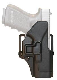 Blackhawk! Cqc Carbon Fiber Serpa Active Retention Holster Matte Black Right Hand For Ruger P95
