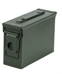 Ammo Can, 30 Caliber, New Unissued OD Green 10x7x3.5""