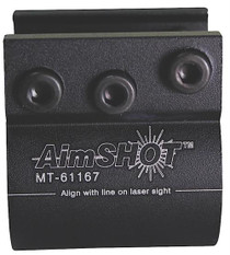 Aimshot Laser Mount For 8067 Weaver Style Matte Black