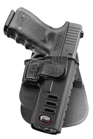 Fobus Rapid Release Paddle Holster For Glock 17/19/22/23/31/32/34/35 Blac