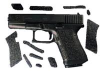 Decal Grip S Glock 19/23/25/32/38 Grip Decals Black Sand Texture Pre-cut Adhe