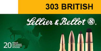 Sellier & Bellot Rifle Training 303 British Full Metal Jacket 180 gr, 20Bx