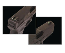 Truglo Tritium Night Sights Kimber Green Front/Rear