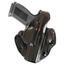 DeSantis 001 S&W M&P9/40 Thumb Break Scabbard Belt Holster, RH, Black Leather