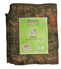 Primos Hunting Calls Burlap Material Bulk Roll 150 Feet Long and 54 Inches Wide Mossy Oak New Break Up Camouflage Pattern