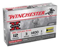 """Winchester Super-X BRI Sabot 12 Ga, 3"""", 1oz, Slug, 5rd/Box"""