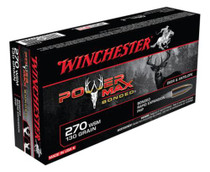 Winchester Power-Max .270 Winchester Short Magnum, 130gr, Protected Hollow Point Bonded, 20rd Box
