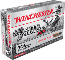 Winchester Deer Season .308 Win, 150 Gr, Poly Tip, 20rd/Box