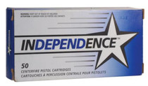 Independence .40 S&W 180gr, Full Metal Jacket 50rd Box